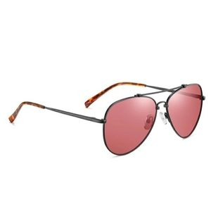 Accessories - Aviator Sunglasses w/Rose Colored Lenses